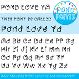 Font - 'Love Ya' Font - for Personal and Commercial Use