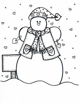 Snowman to Love