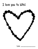 Love You to Bits! Simple Heart Craft