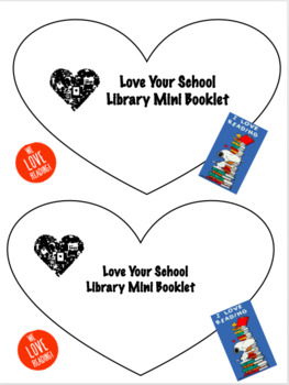 Love Your Library Mini Booklet