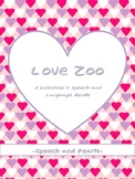 Love Zoo: A Valentine Speech and Language Bundle
