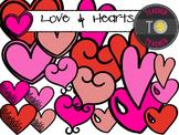Valentine's Day Clipart {TeacherToTeacher Clipart}
