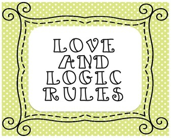 Love and Logic Rules