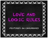 Love and Logic Rules in Chalkboard