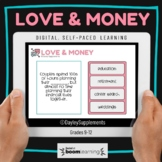Love and Money Relationships Interactive Boom Cards™ for P