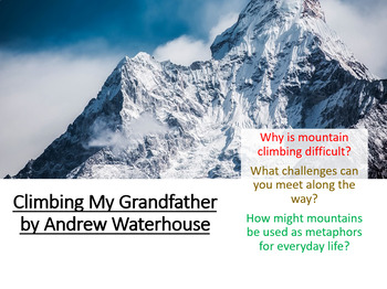 Love and Relationships - Climbing My Grandfather