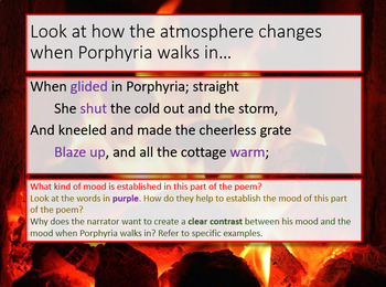 Love and Relationships - Porphyria's Lover