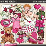 "Valentine's Day Clip Art: ""Love and Romance"""