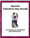 Love and Romance Spanish Mini Bundle: Valentine's Day (4 Resources)