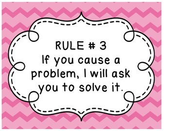 Love and Logic Rules in Chevron