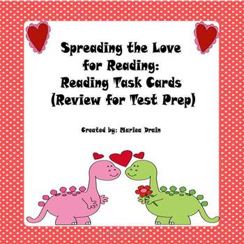 Love for Reading: Reading Task Cards for Test Prep
