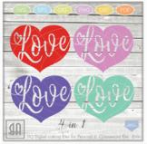 Love heart svg - Valentine Svg - Valentine heart SVG - heart