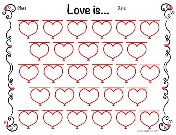 Love is... Class Sheet