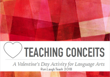 Love is a... - Teaching Conceits Activity