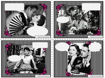Love is in the Air!  Scene It?  Caption It! Critical Thinking Creative Writing