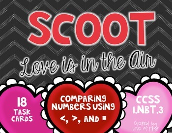 Comparing Two Two-Digit Numbers Scoot FREEBIE
