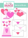 Love is in the Air {Valentine's Day Clipart}