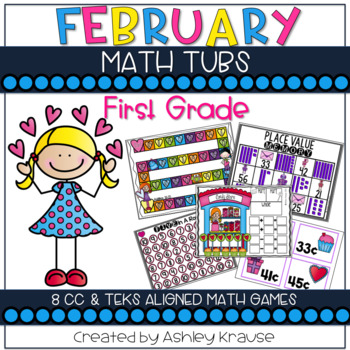 Love is in the air: February Math Centers