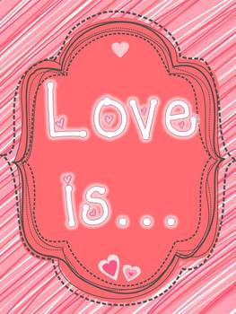 Love is...poster