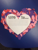 Love is...writing paper