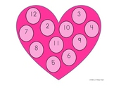Love-ly Addition Dice Game (Add sums to 12)