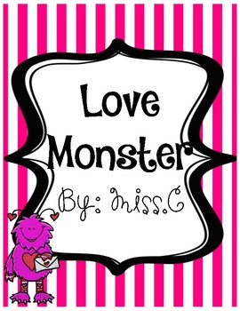 Love monster math and literacy activities