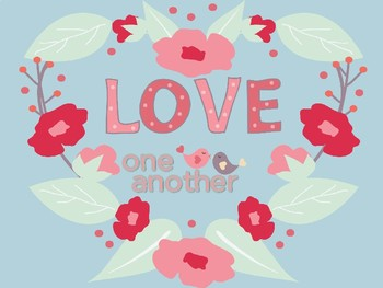 Love one another craft