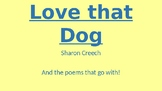 Love that Dog Referenced Poems