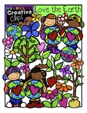 Love the Earth {Creative Clips Digital Clipart}