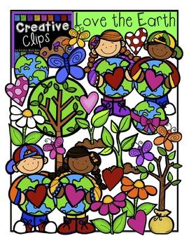 Love the Earth {Creative Clips Digital Clipart}