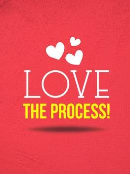 Love the Process Choir Poster