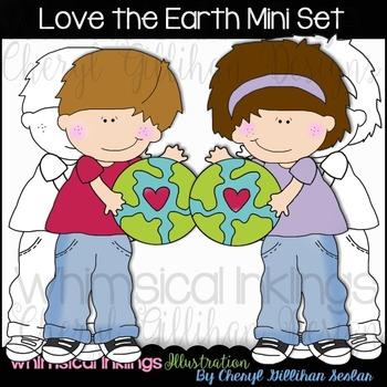 Love the earth Mini set NO LICENSE REQUIRED