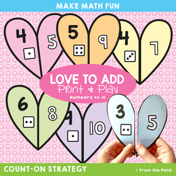 Addition Math Center - Love to Add