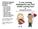 Love to Learn: Literacy & Math Pack for Kindergarten and First Grade