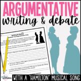 Argumentative Essay Writing Outlines Hamilton Musical Satisfied Love Song Debate