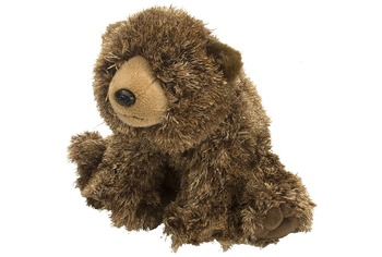 Love you, Teddy with plush brown bear