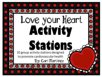 Love your Heart Activity Stations