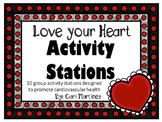 Love your Heart Activity Stations #SBDollarDeal