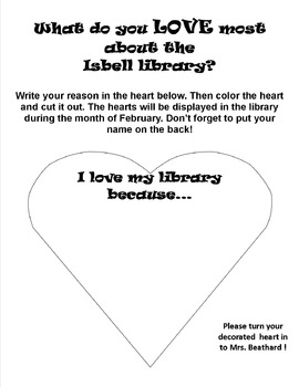 Love your library month!