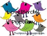 LoveBirds Clipart!
