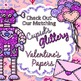 Robot Valentine Clip Art {Cute Toy Lovebots for Worksheets