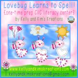 Lovebug Learns to Spell! {one-time prep CVC literacy center}
