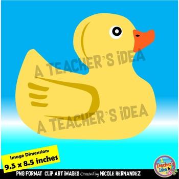 Rubber Ducks Clip Art For Teachers