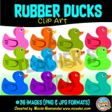 Rubber Ducks Clip Art for Personal and Commercial Use