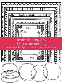 Lovely Frames Set 1
