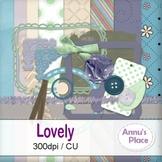Lovely - Digital Scrap Kit