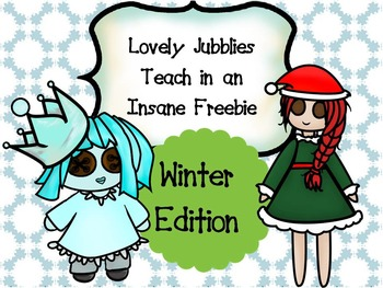 Lovely Jubblies in an Insane Freebie: Winter Edition