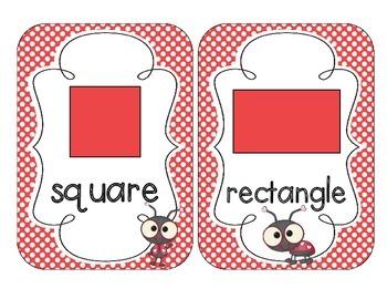 Lovely Ladybug Shape Cards