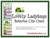 Lovely Ladybugs Behavior Clip Chart