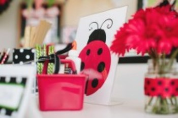 Classroom Decor Lovely Ladybugs Cut Outs - Print